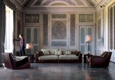 Alfred Sofa by Fratelli Longhi - Via Designresource.co