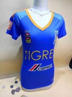 10cccec27 1617 cheap tigres uanl away blue womens replica football shirt. Women s  Tigers Away 16-17 Season Blue Soccer Jersey  H969