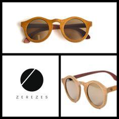 óculos de madeira #ZEREZES