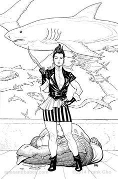 Shutter #7 cover art by Frank Cho
