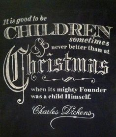 Charles Dickens - To him we owe a depth of gratitude.