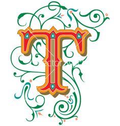 236 Best The Letter T Images Letter T Initials Letters