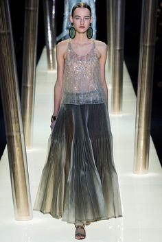 Armani Privé Spring 2015 Couture Fashion Show - Maartje Verhoef (Women)