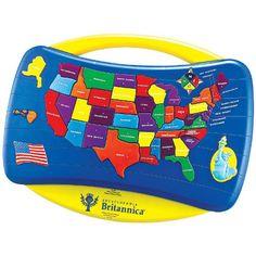 Talking USA Puzzle Tek Nek