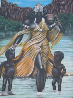 Maferefun Oshun! Beautiful mother of the sweet waters and bringing joy into our lives with your sweetness.
