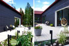 Pihasuunnittelu | GREEN IDEA | Helsinki, Turku, Tampere, Oulu, Rovaniemi, Kuopio Koti, Helsinki, Deck, Outdoors, Garden, Plants, Garten, Gardens, Planters