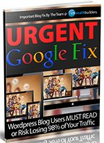 VIP Download Area For The Urgent Google Fix Report & Script