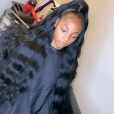 Black Women Hairstyles, Straight Hairstyles, Cool Hairstyles, Hairstyle Ideas, Messy Ponytail, Braided Ponytail Hairstyles, Short Hair Dos, Brazilian Weave, Curly Weaves