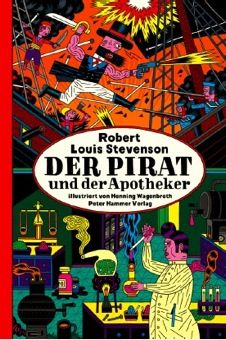 해적과 약제사   24 x 36 cm, 40 페이지, 프랑스, 이탈리아, 스페인 저작권 수출   수상내역: - 2012 독립출판사 최우수 출판작품상 - One of the 7 Best Books. – Deutschlandfunk - Melusine-Huss-Prize 2012 - Donkey of the Month   베를린에 거주하고 있는 코믹북 아티스트 Henning Wagenbreth 는 이제까지 알려지지 않은 로버트 루이스 스티븐슨의 발라드를 발견한다. 이야기에 매료된 저자는 영어에서 독일어로 번역을 하고 직접 일러스트를 했다. 그 결과물이 바로 이 그림책 <해적과 약제사> 이다. 선과 악, 명예와 범죄, 탐욕과 절제, 거짓과 진실이 나쁜 남자, 로빈과 벤, 이 두 친구의 발라드를 통해서 드러난다. 벤은 겁이많고, 냉정하며 치밀하다. 그는 다른사람 모르게 훔친다. 친구인 로빈은 싸움도 잘하고 술도 잘 마시는 해적이 되고 대놓고 훔친다...