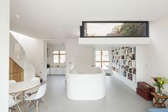 A Clever Sunken Roof Fills a London Terrace House with Light written by: Ian Spula photos by: Matt Clayton November 20, 2015