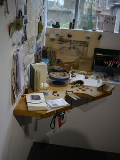 Jeweler's bench     #workspace