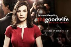 I'm finally watching this! I'm just halfway season 1. I love Julianna Margulies' acting! Slow pacing on the first few episodes... Episodes 11 onwards gets juicier!