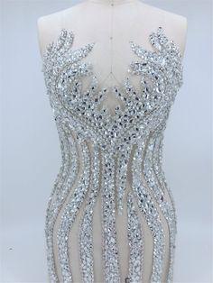 Mermaid Dresses, Bridal Dresses, Prom Dresses, Dress Prom, Rhinestone Appliques, Rhinestone Dress, Sequin Appliques, Applique Wedding Dress, Applique Dress