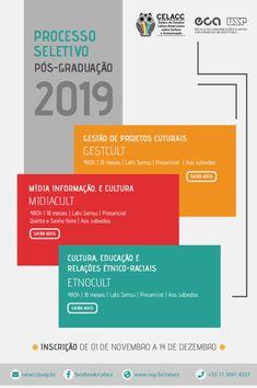 .: CELACC-USP abre processo seletivo para cursos de pós-graduação lato sensu