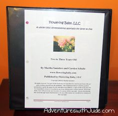 Adventures with Jude: Flowering Baby (A Schoolhouse Crew Review)