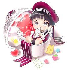 Haikyuu Nekoma, Hinata Shouyou, Haikyuu Funny, Haikyuu Anime, Karasuno, Haikyuu Volleyball, Volleyball Anime, Goshiki Tsutomu, Chibi Food