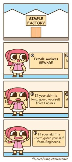 Female workers BEWARE!