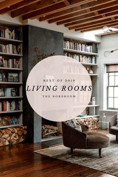 Most of us have a place to work in our home, whether you have an entire room or just a little corner with a desk. In this post my Best of 2019 series continues with the most beautiful workspaces I've seen last year. Tiny Living Rooms, Living Spaces, Sutton House, Window Seat Kitchen, Scandinavian Apartment, Scandinavian Interior, Farmhouse Style Kitchen, Small Apartments, Studio Apartments