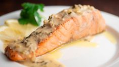 Pan-Seared Salmon With Creamy Lemon Butter Sauce - YouTube Pan Seared Tilapia, Lemon Butter Sauce, Italy Food, Fish Recipes, Seafood, Spices, Pork, Meals, Ethnic Recipes