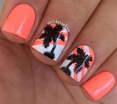 cool 18 Beach Nail Art Designs, Ideas, Trends & Stickers 2015 | Summer Nails