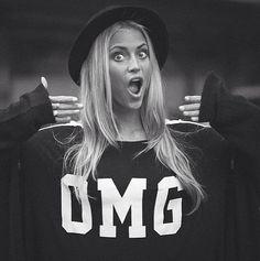 O M G Fall Winter, Autumn, Neon Signs, Style Inspiration, T Shirts For Women, Sweatshirts, Tops, Fall Season, Fall