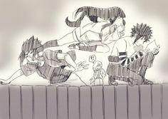 This scene is inspired by a scene about manga Ranma who remind me Ryoga, shampoo and Ranma( love ranma and shampoo Like kishimoto says RTN Hin. Looking a new parchemin Naruhina, Menma Uzumaki, Naruto Gaiden, Naruto And Hinata, Hinata Hyuga, Narusasu, Sasunaru, Anime Naruto, Boruto
