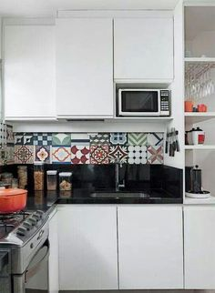 Inspire-se com nossa seleção com 50 fotos de bancadas de cozinhas com granito preto absoluto. Confira!