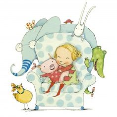 LittleElfMans Bibliotherapy: Tilly and Friends by Polly Dunbar