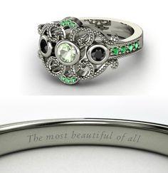 Mulan Inspired Disney Wedding Ring. (Would use for a Mulan bridesmaid gift