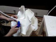 Изолоновая роза-светильник.Часть 2 - YouTube