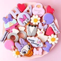 daisy duck cookies