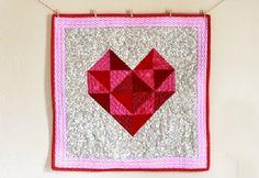 Sweetheart Mini Quilt Pattern