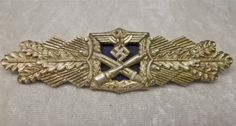 Lot # : 306 - WWII German Heer Close Combat Badge in Silver www.jjamesauctions.com Military Awards, Military Ranks, Military Personnel, War Medals, Mens Silver Jewelry, World War Two, Wwii, Badge, Stamps