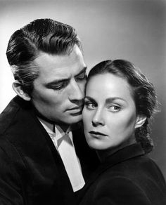 "Alida Valli and Gregory Peck in ""The Paradine Case"" (1947). COUNTRY: United States. DIRECTOR: Alfred Hitchcock."