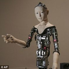 Alter is a humanoid robot designed by scientists in Japan Brain Twister Games, Information Engineering, Real Robots, Japanese Robot, Humanoid Robot, Robot Arm, Robot Design, Cyborgs, Artificial Intelligence