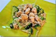 toddler meals chicken and broccoli Parmesan rice thumb 10 Simple & Healthy Toddler Meals