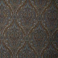 Paisley - Blue/Brown