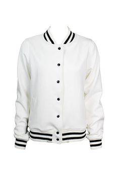 Bomber Jacket College Off White