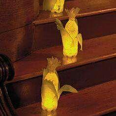 Corn lanterns- Thanksgiving