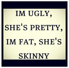 Which is why you'll like her instead of me...And why you never look at my like you do her....It kills me..