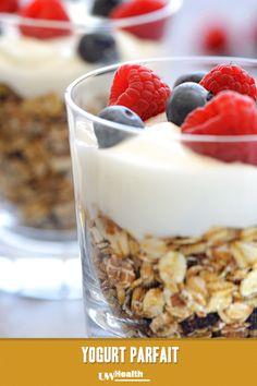 Yogurt Parfait for #breakfast.