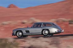 Mercedes Gullwing shooting break