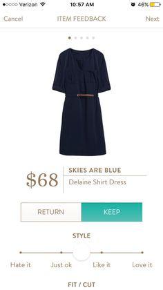 Stitch Fix Skies are Blue Delaine Shirt Dress https://www.stitchfix.com/referral/8055861