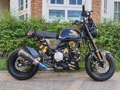 Mini Motorbike, Mini Bike, Honda Monkey, Motorcycle Icon, Motorbikes, Cubs, Biker, Honda 125, Bike Stuff