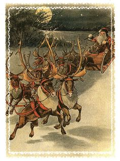 Old Time Christmas Card from 40's or 50's | Flickr - Photo Sharing!