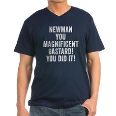 Seinfeld Newman Men's V-Neck T-Shirt