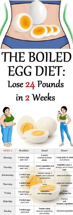 Among the many diets out there you can try the boiled egg diet seems to work be