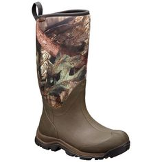 Columbia Men's Bugaboot Neo Tall Camo Omni-Heat Boots are perfect for a variety of wet and cold weather conditions, designed for snow, mud, and rain. Big Game Hunting, Cowboy Boots, Men's Boots, Weather Conditions, Cold Weather, Columbia, Work Wear, Camo, Wedges