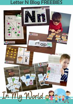 Lots of great ideas and variety for working with letters! I like all of the manipulatives!