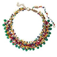 Rostantica/ Campo di Fiori multi-gem necklace